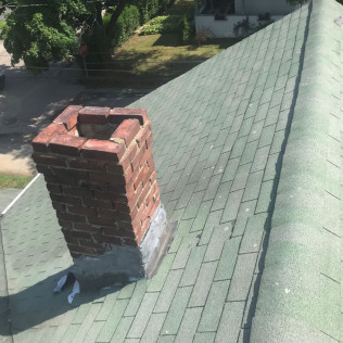 Before Chimney Repair